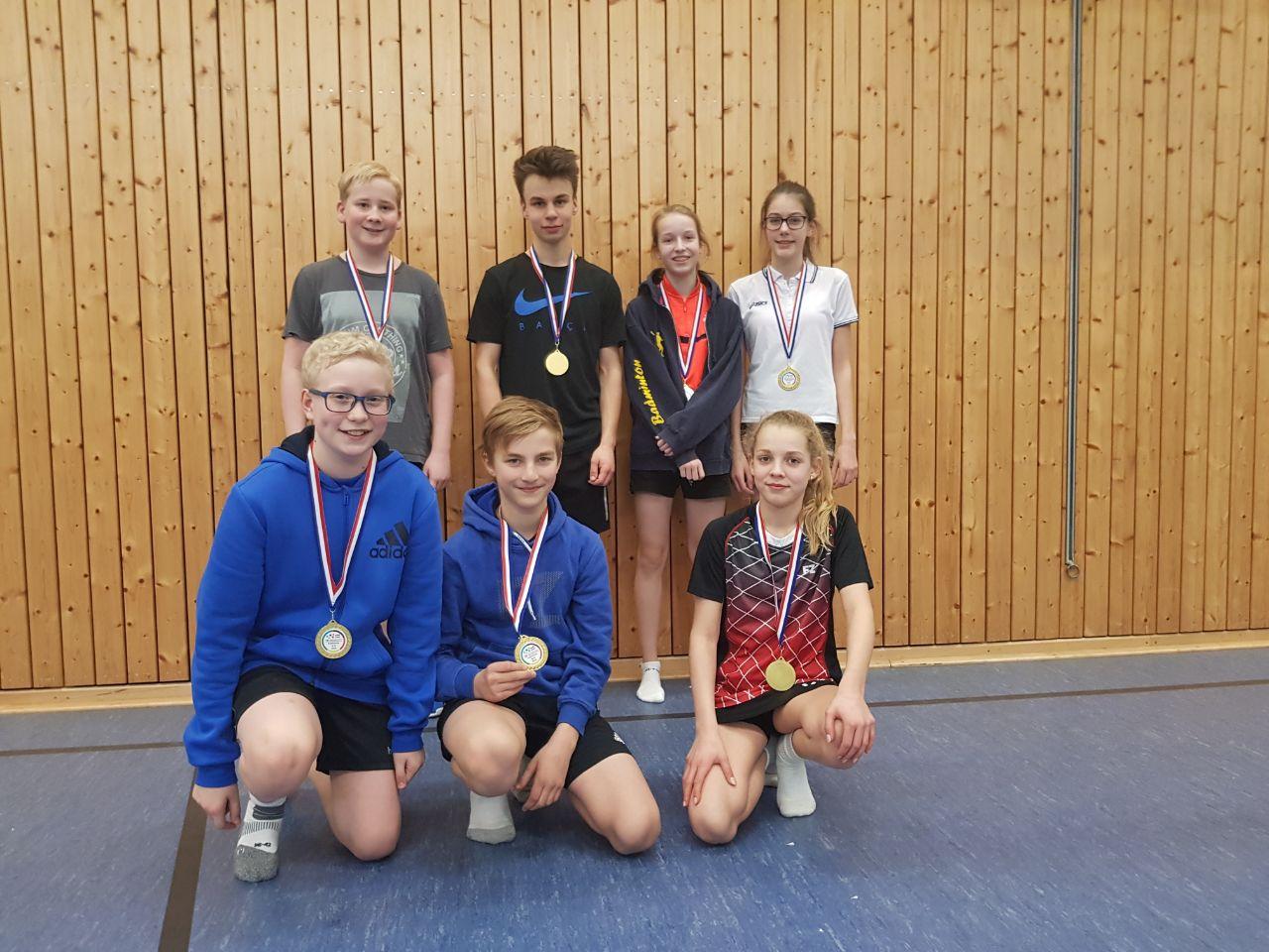 Toller Erfolg für unsere Badminton-Mannschaft
