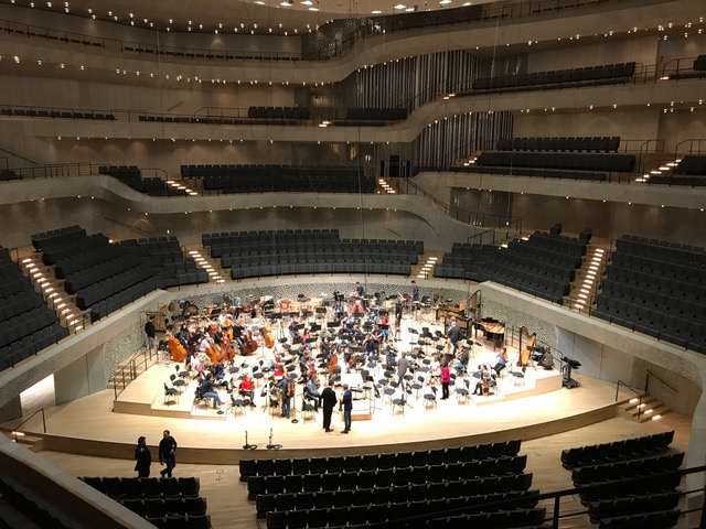 Orchesterbesuch in der Elbphilharmonie