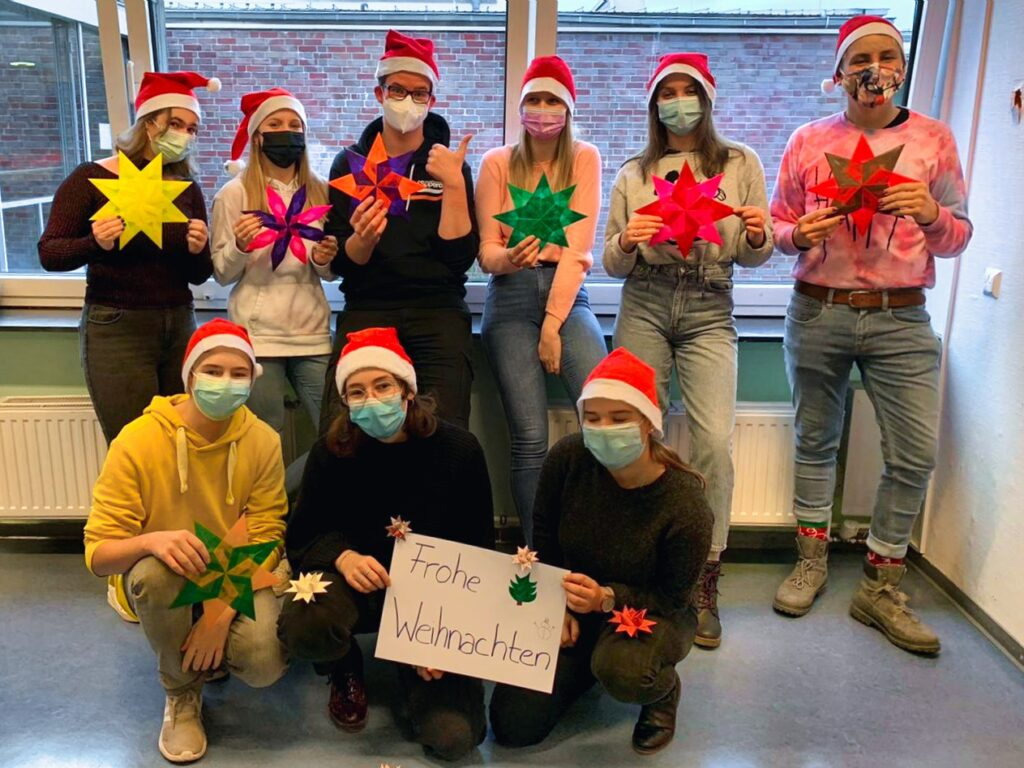 Gruppenfoto, Weihnachten
