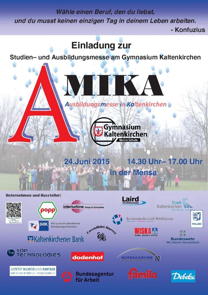 Plakat Amika2015