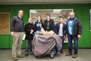 Unglaublicher Kellerfund – Schüler spenden Mammutknochen